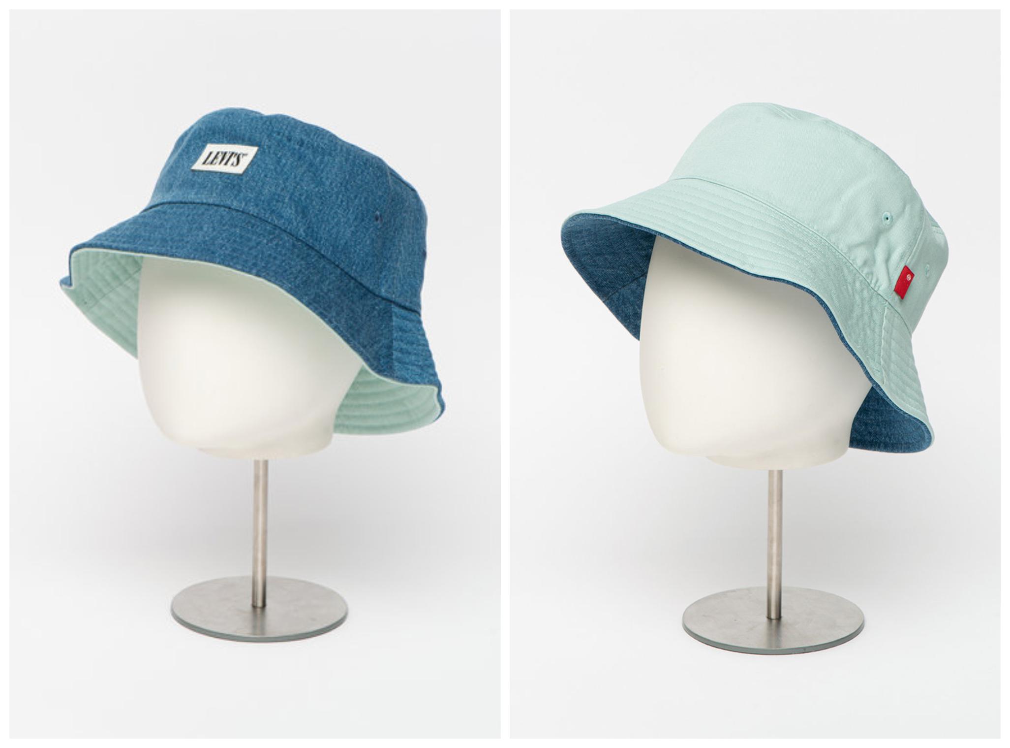 Унисекс двулицева шапка от Levi's